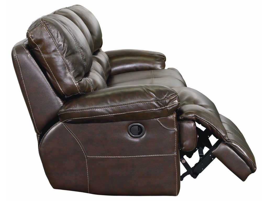 Side View  Recliner Released