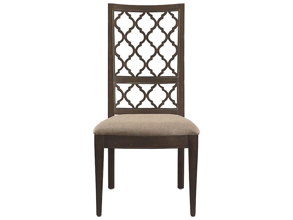 Bassett Emporium Open Fret Side Chair Becker Furniture World