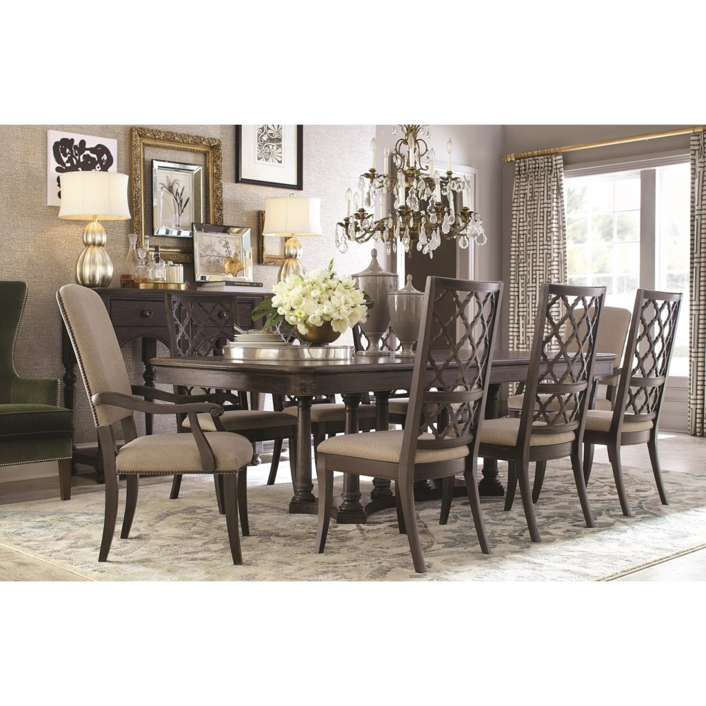 Chair Furniture Emporium bassett emporium table and chair set - darvin furniture - dining 7