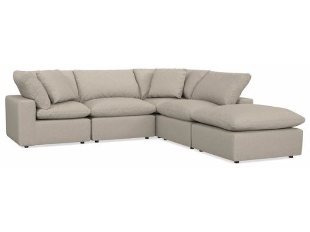 Bassett EnvelopL-shaped Sectional