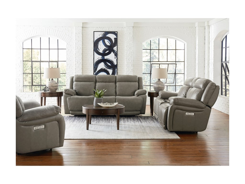 Bassett EvoReclining Living Room Group