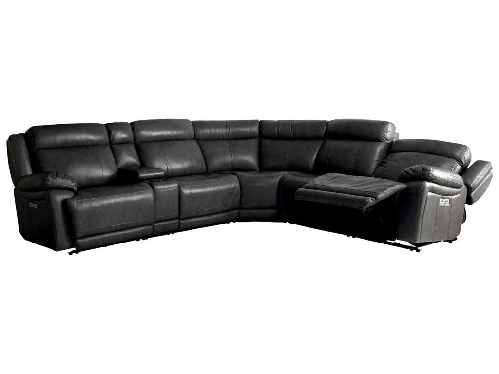 Bassett EvoPower Reclining Sectional