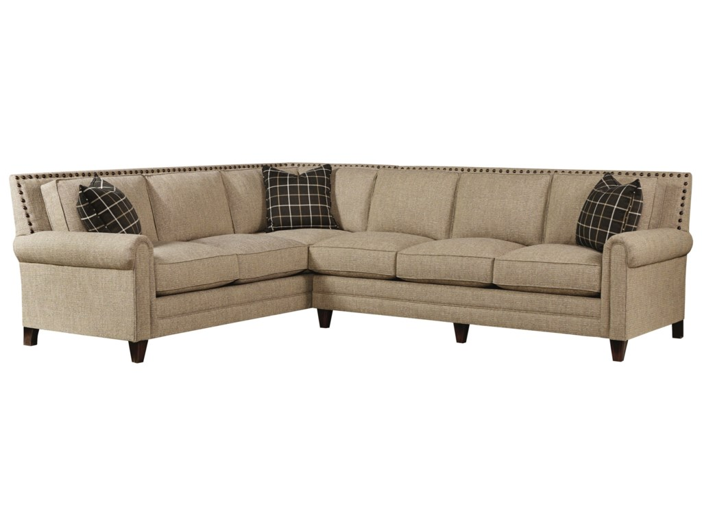 Bassett HarlanSectional Sofa with 5 Seats