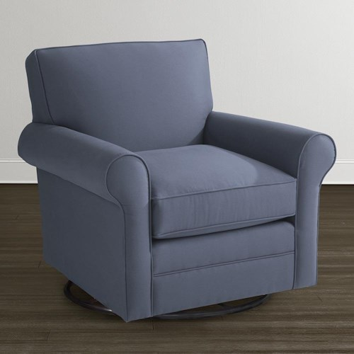 Bassett Harris Swivel Glider