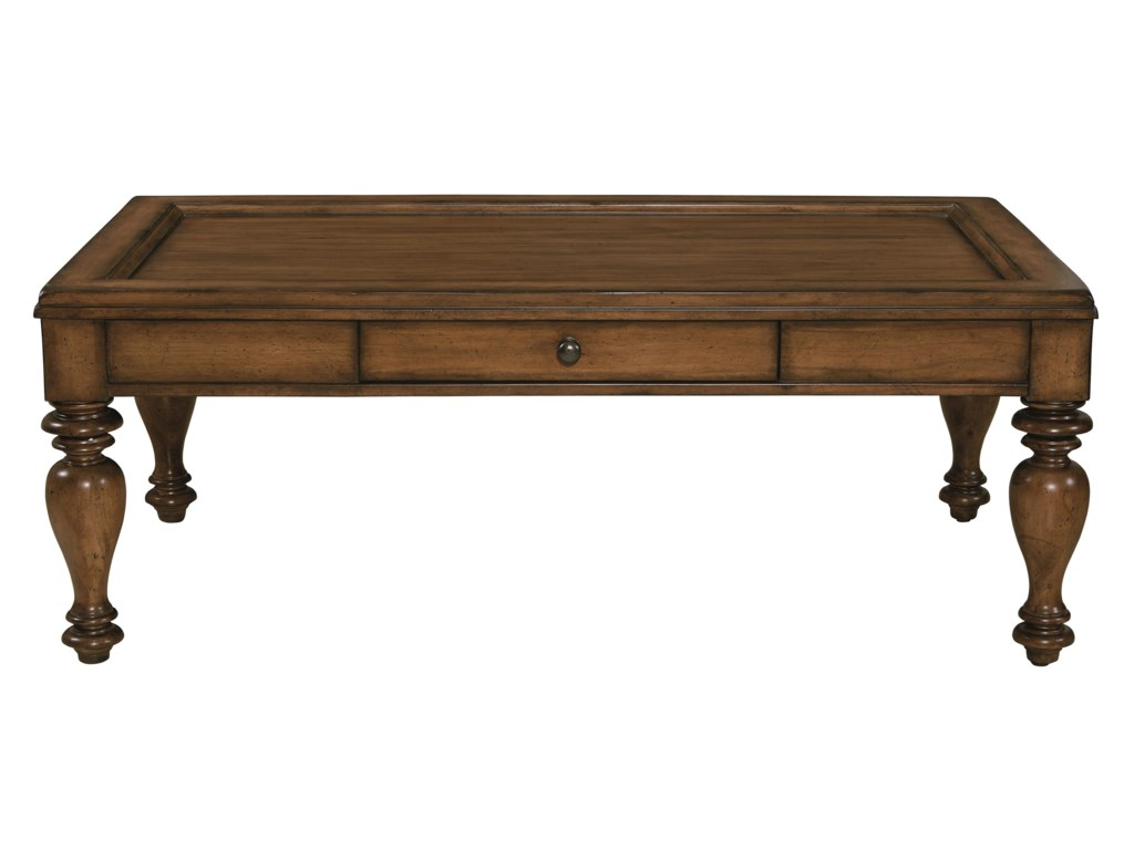 Bassett Heartland PineRectangular Cocktail Table
