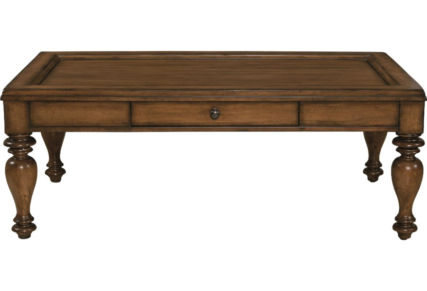 Heartland Pine Rectangular Tail Table