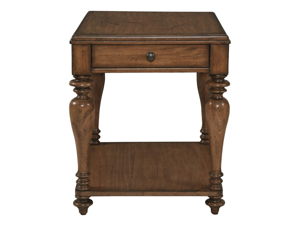 Bassett Heartland PineSide Table