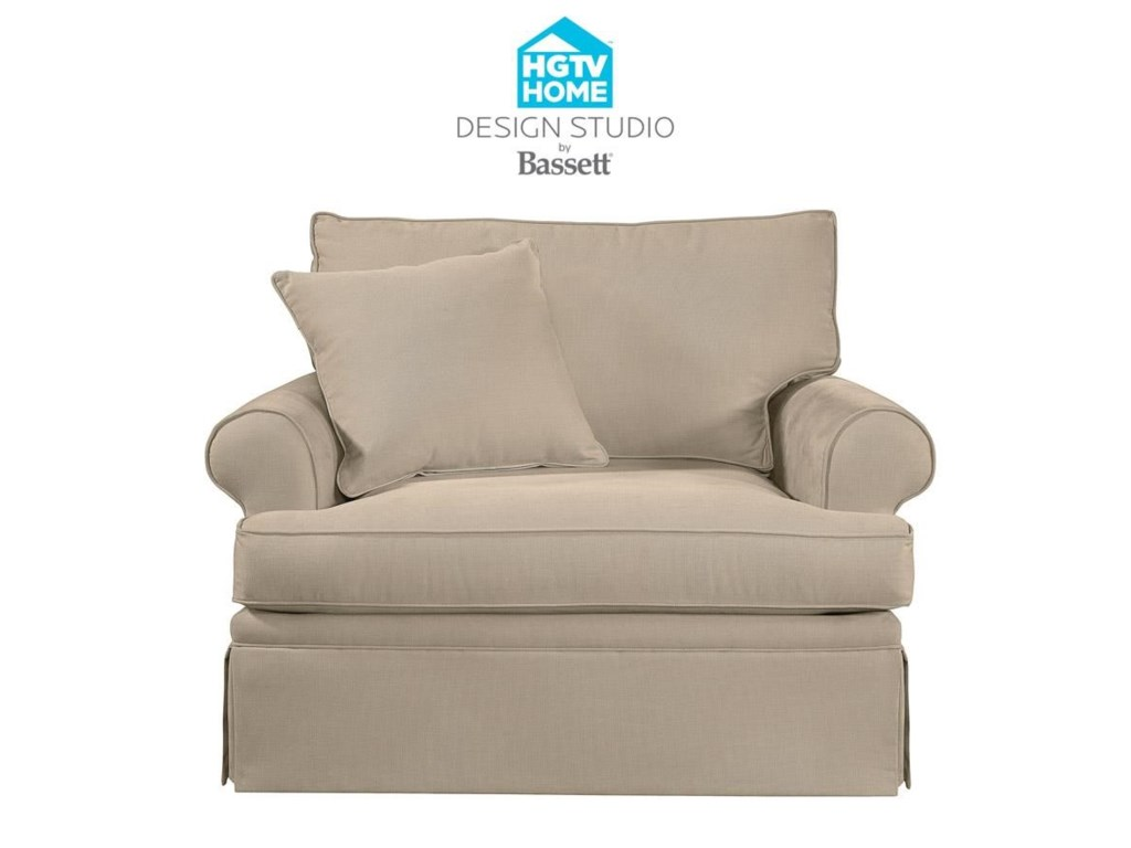 Bassett HGTV Home Design StudioCustomizable Chair & a Half