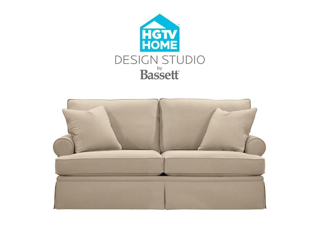Bassett HGTV Home Design StudioCustomizable Studio Sofa