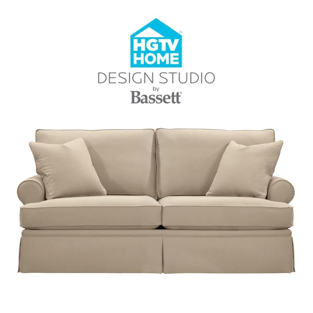 Bassett HGTV Home Design Studio Customizable Studio Sofa   Great American  Home Store   Sofa