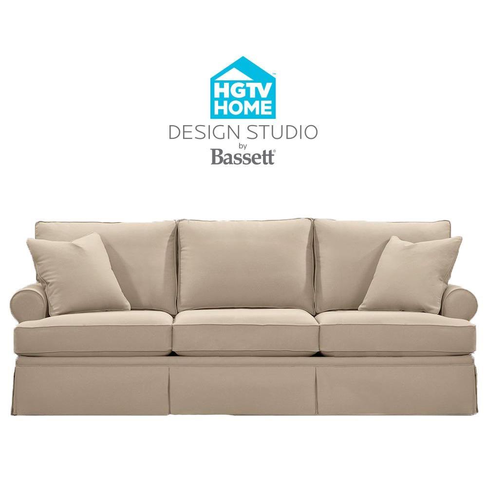 Bassett HGTV Home Design StudioCustomizable Great Room Sofa ...