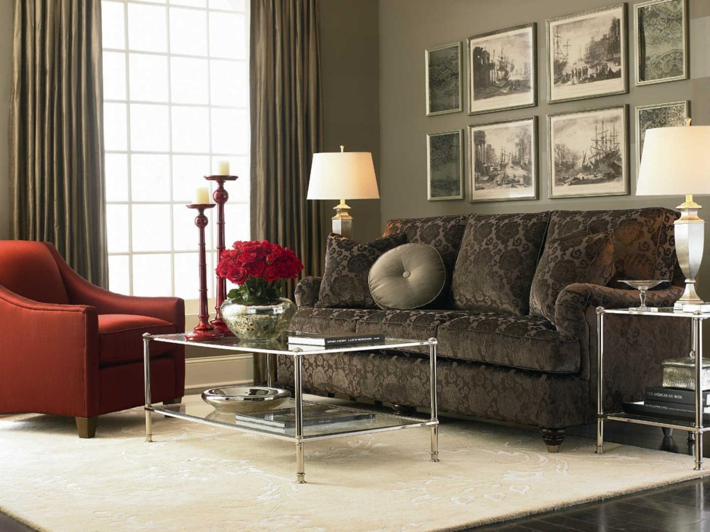 Bassett HGTV Home Design StudioCustomizable Medium Sofa