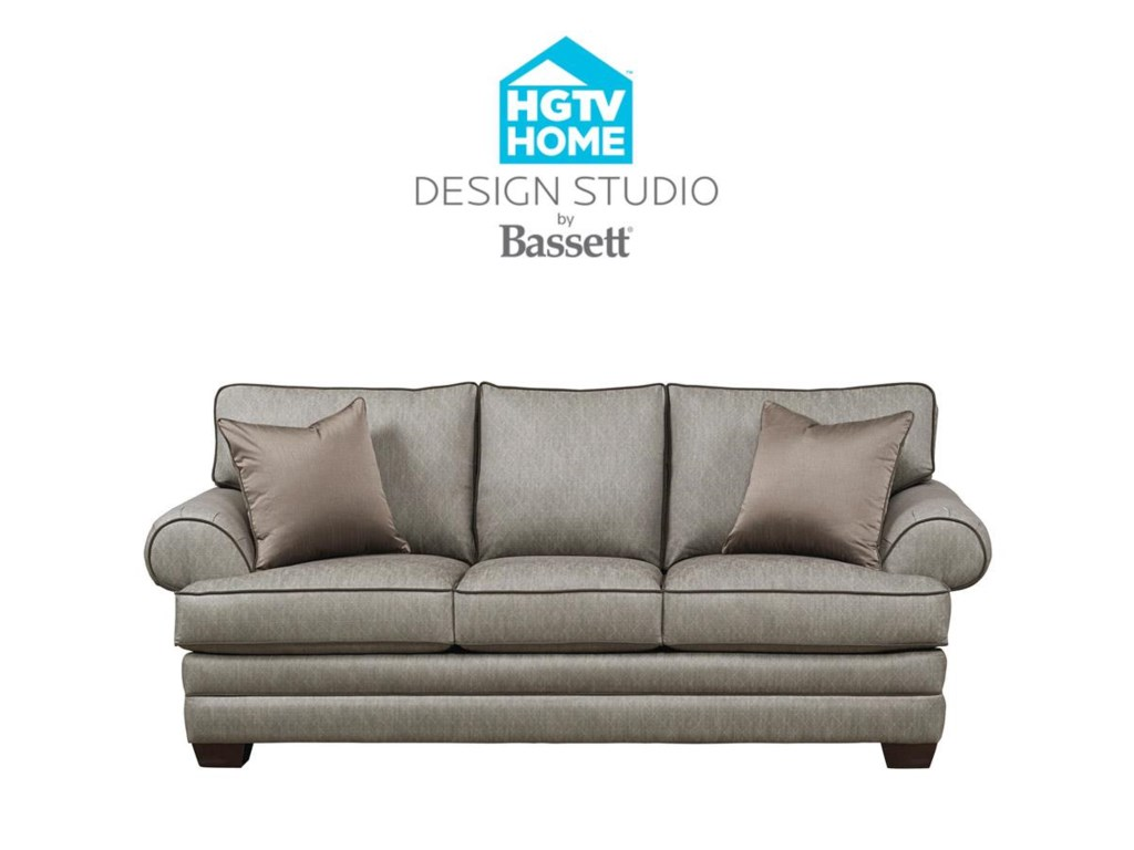 Bassett HGTV Home Design Studio 6000 Customizable XL Sofa | Great ...