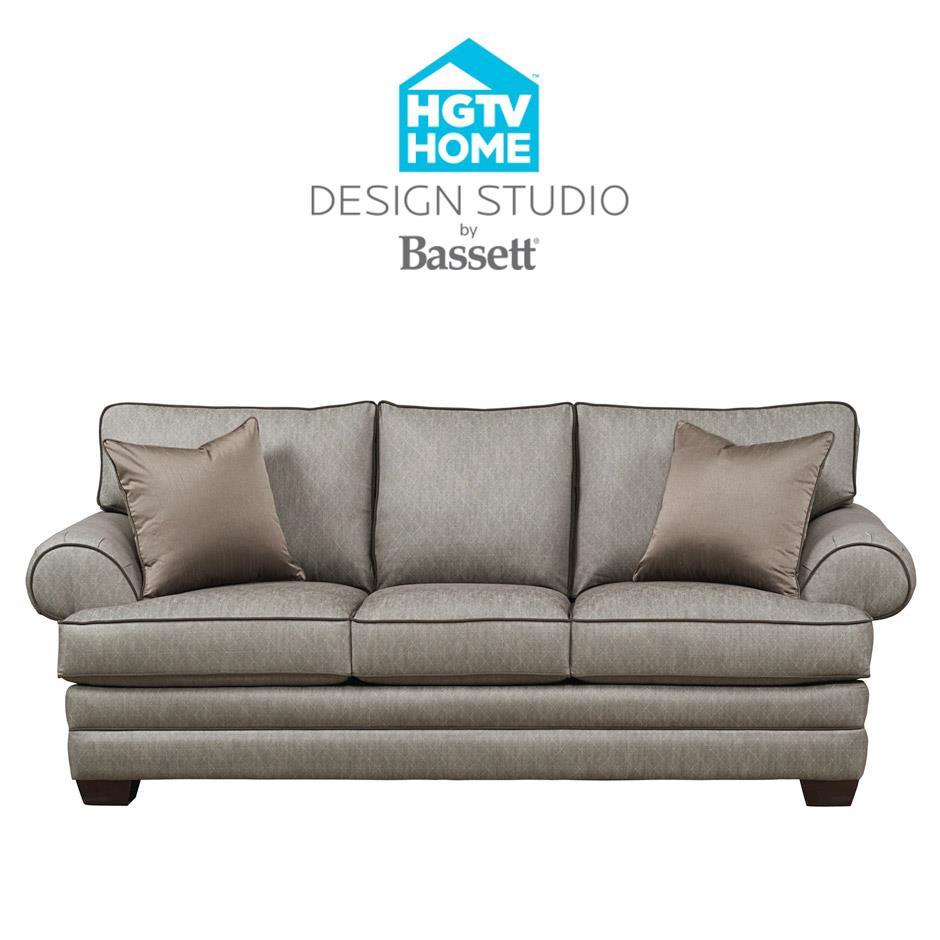 Bassett HGTV Home Design StudioCustomizable XL Sofa ...