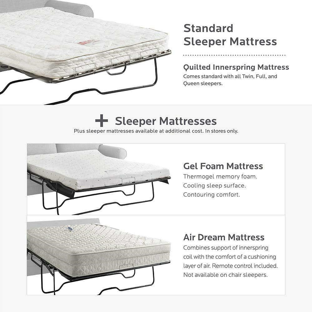 Bassett HGTV Home Design Studio 7000 7 Customizable Queen Sofa Sleeper