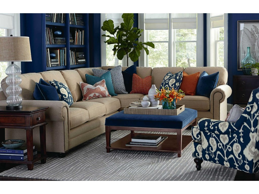 Bassett HGTV Home Design StudioCustomizable Large Sofa