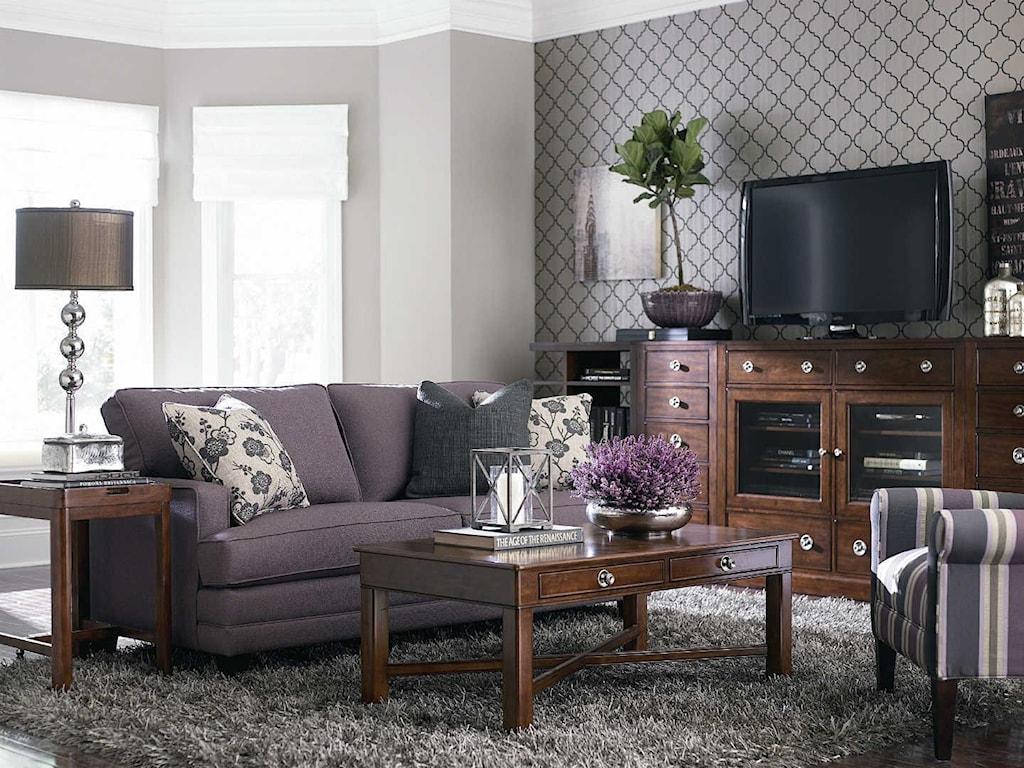 Bassett HGTV Home Design StudioCustomizable Small Sofa