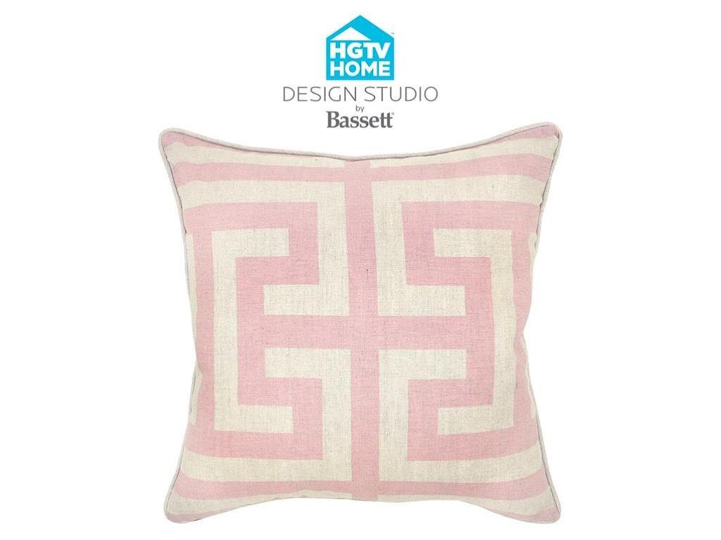 Bassett HGTV Home Custom PillowCustomizable Square Throw Pillow