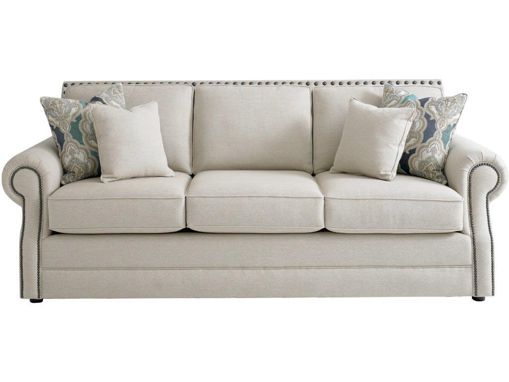 Beautiful Hubbard Sofa By Bassett