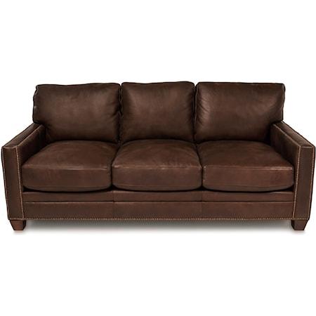 """80"""" Leather Sofa"""