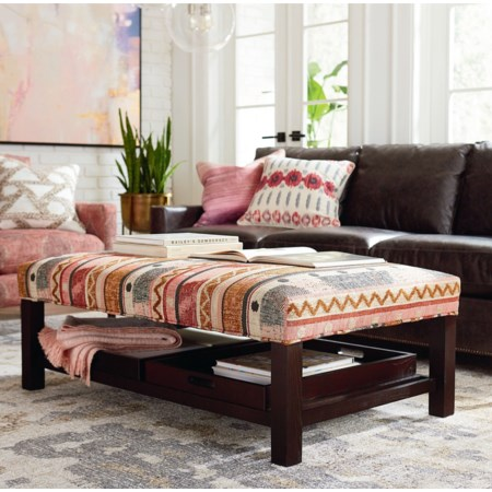 Tray Cocktail Ottoman