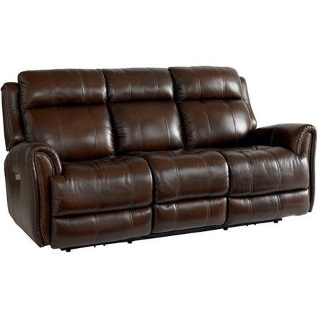 Power Reclining Sofa w/ Extended Footrest