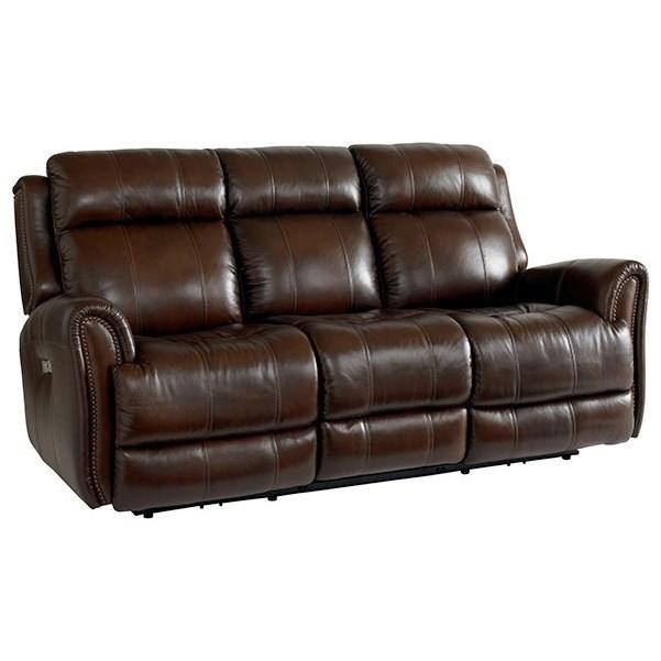 bassett marquee club level 3707 p62cd power reclining sofa with rh beckerfurnitureworld com leather sofa with footrest sofa chair with footrest
