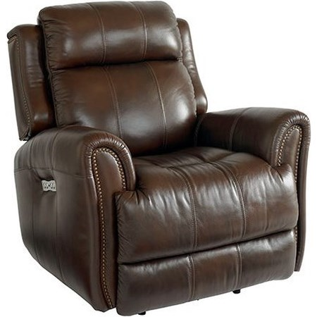 Power Recliner with Extended Footrest