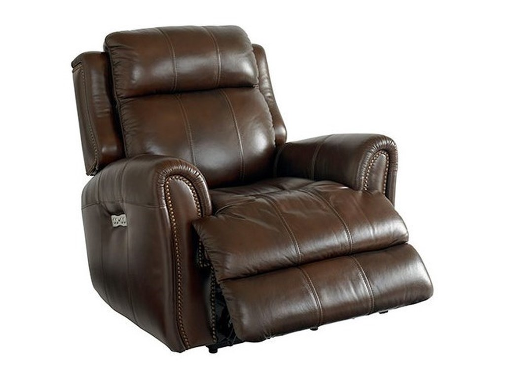 Bassett MarqueePower Recliner with Extended Footrest