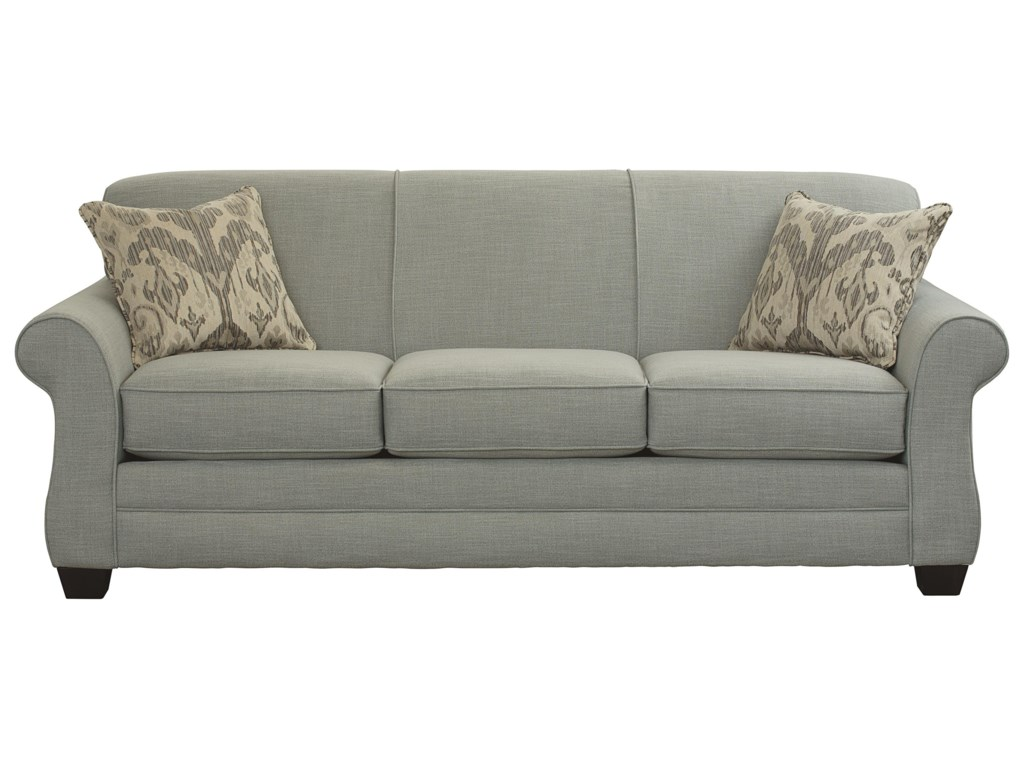 Mason Transitional Sofa Sleeper With Gel Foam Mattress By Bett At Becker Furniture World