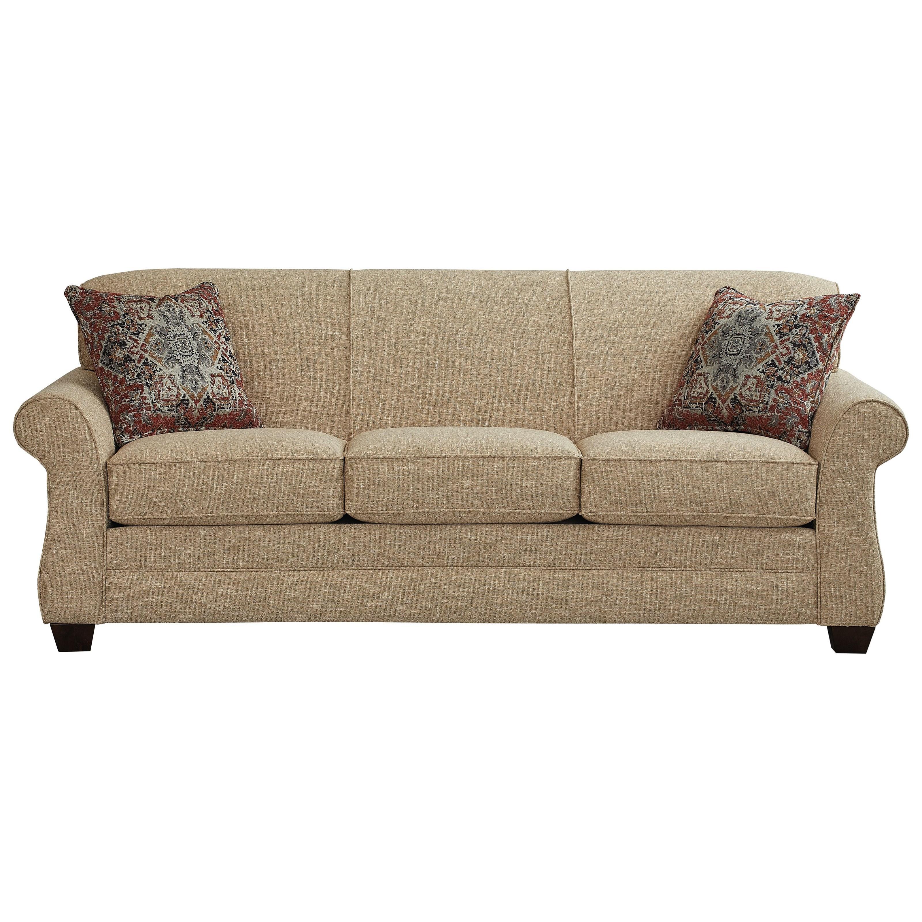 - Bassett Mason Transitional Sofa Sleeper With Rolled Arms Wayside