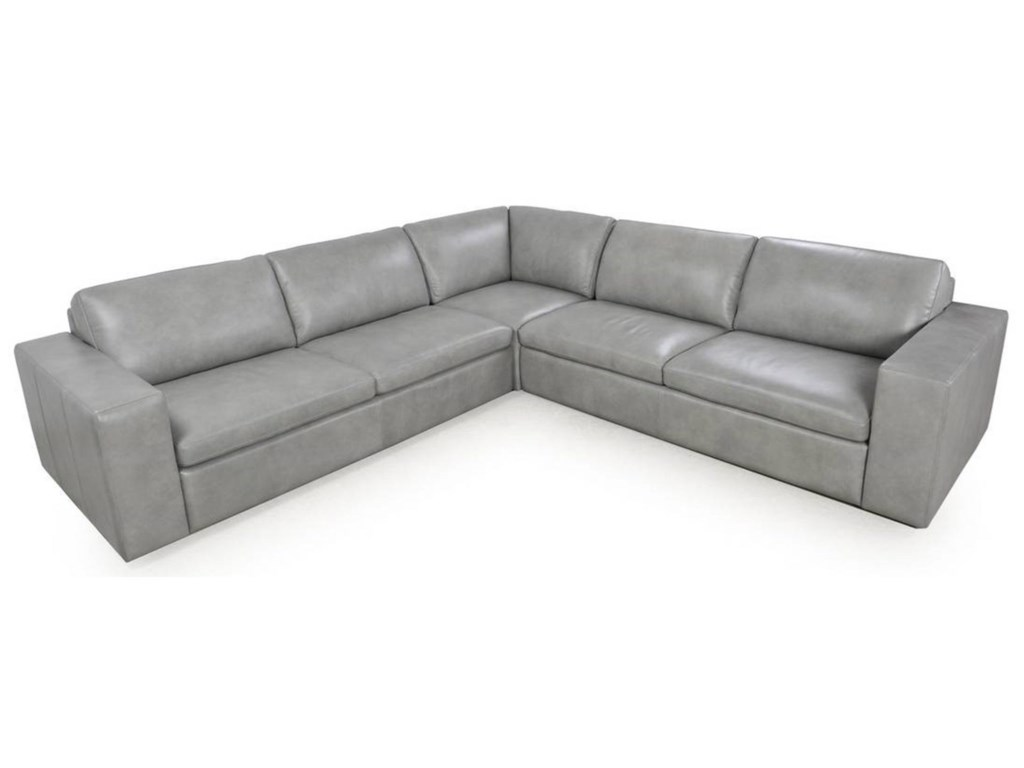 Bassett MelinaContemporary Sectional  Sofa