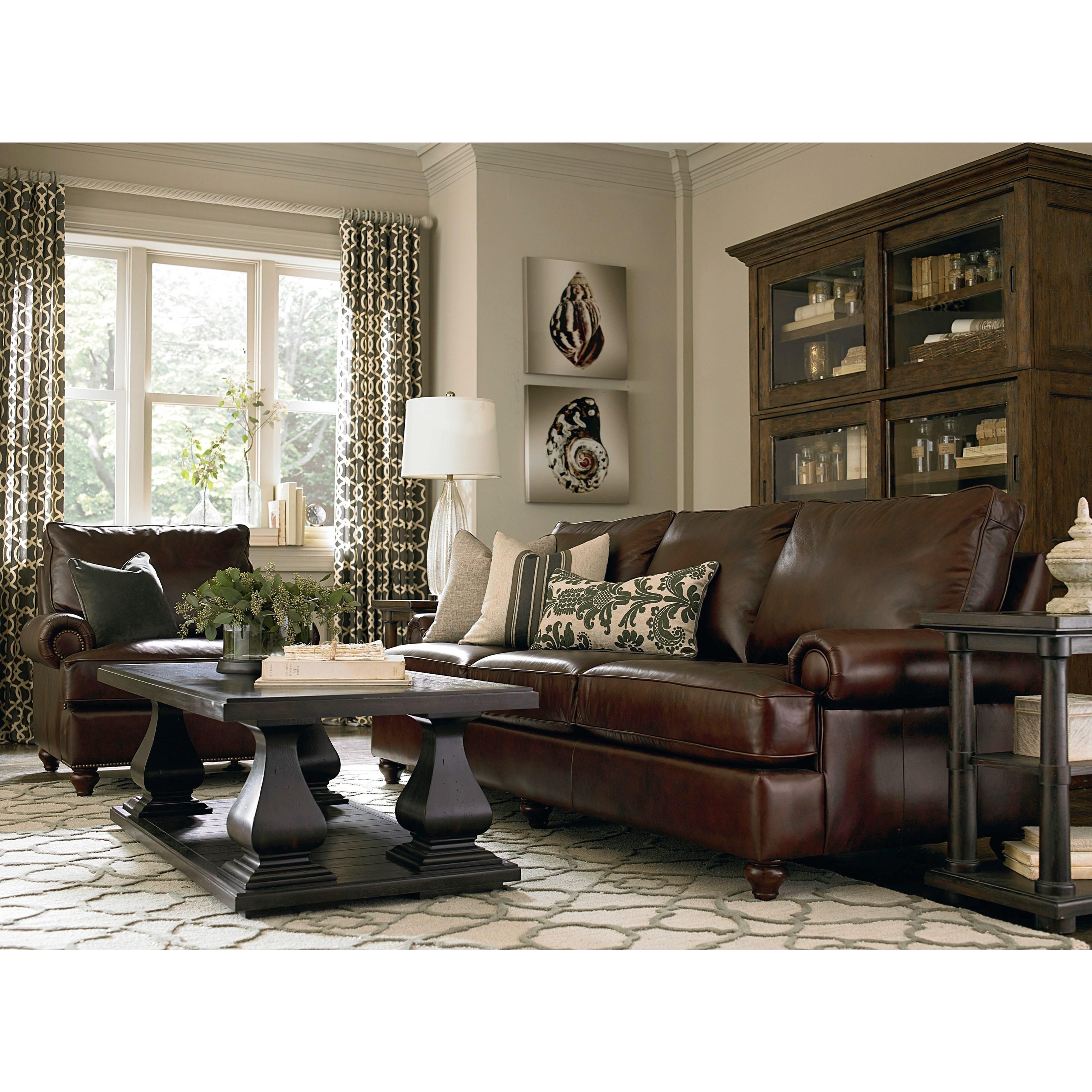 Bon Bassett MontagueStationary Living Room Group