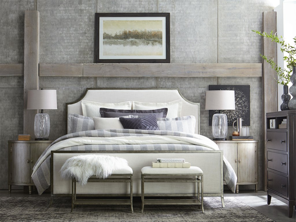 Bassett PalisadesUpholstered Queen Headboard