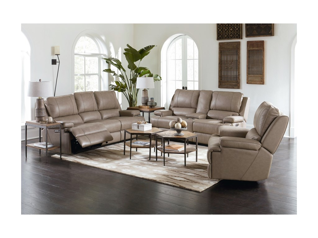 Bassett Parker Club Level Power Wallsaver Recliner