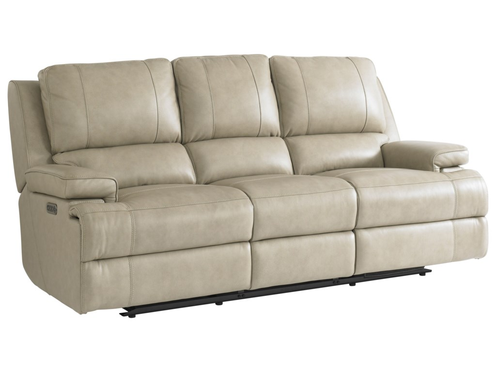 Bassett Parker Club Level Power Headrest Reclining Sofa