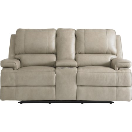Power Headrest Reclining Console