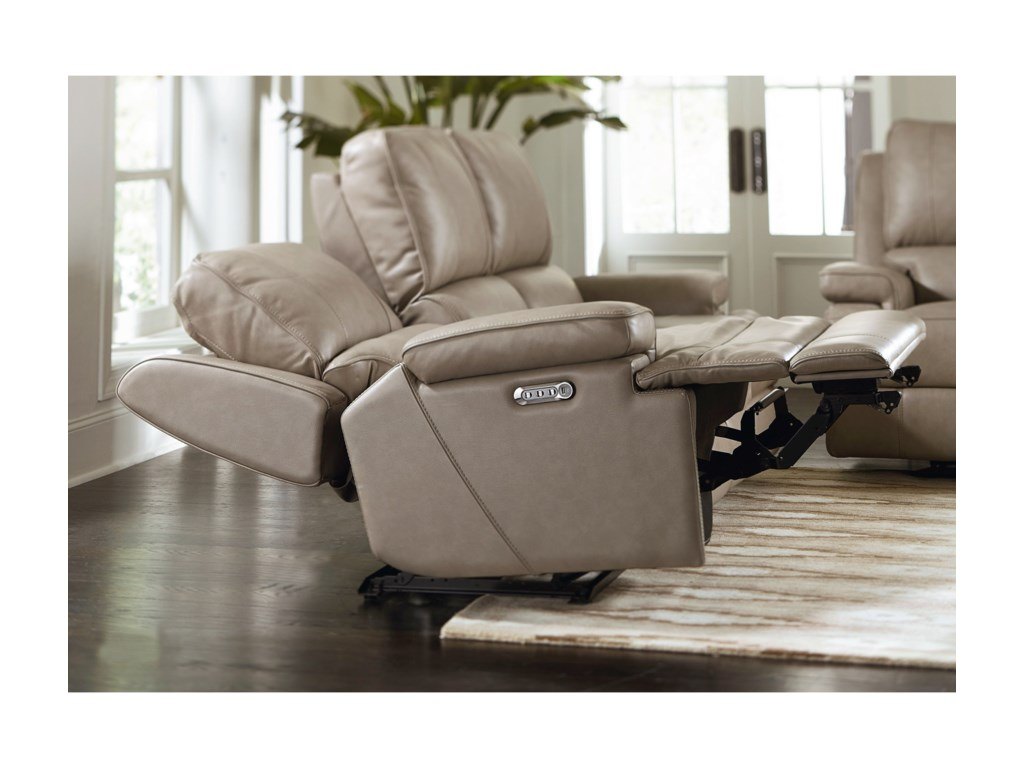 Bassett Parker Club Level Power Headrest Reclining Console