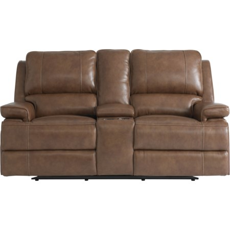Double Reclining Loveseat w/ Power Headrests