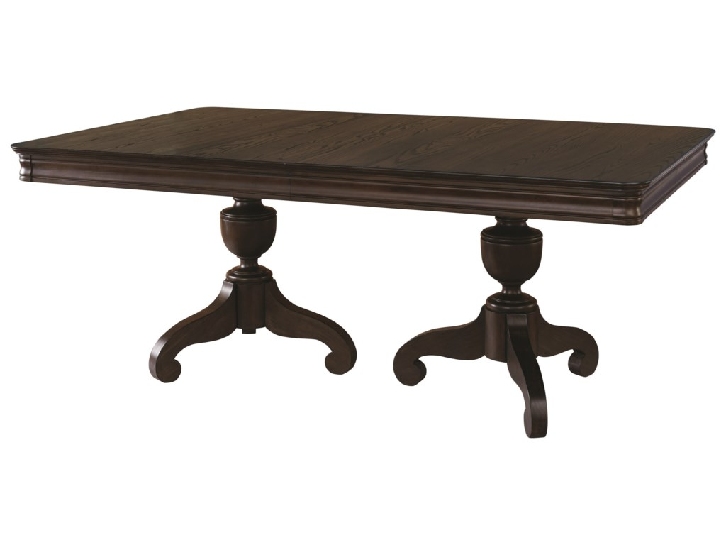 Bassett ProvenceDouble Pedastal Table