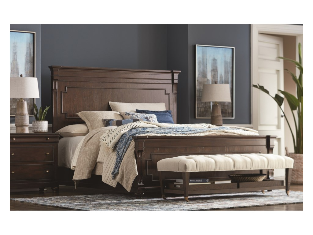 Bassett ProvenceKing Size Panel Bed
