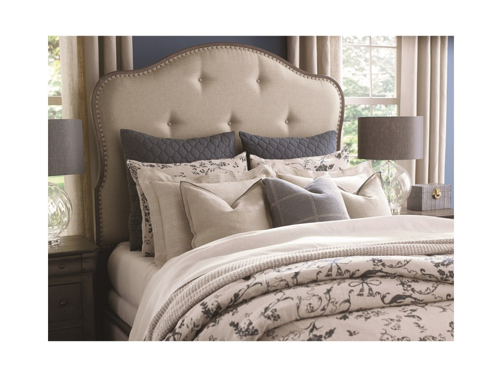 Bassett ProvenceKing Upholstered Bed