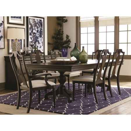 Formal Dining Room Table and Chair Set
