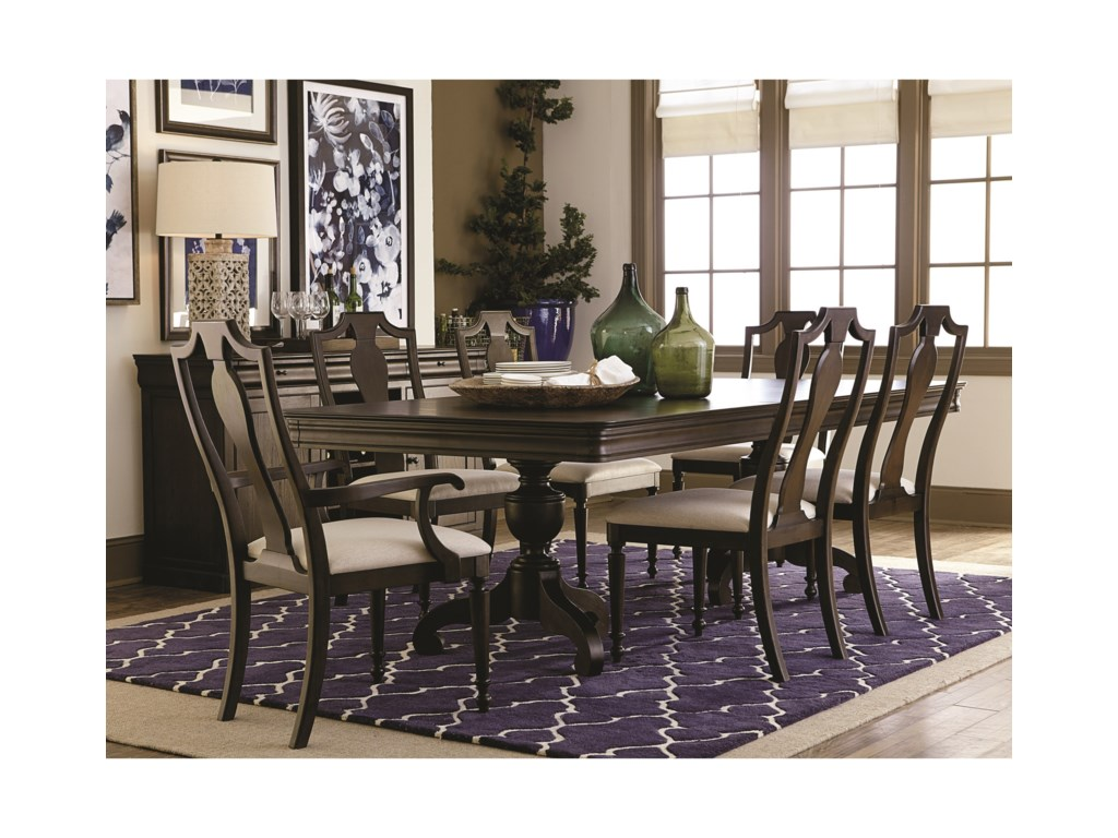 Bassett ProvenceFormal Dining Room Table and Chair Set