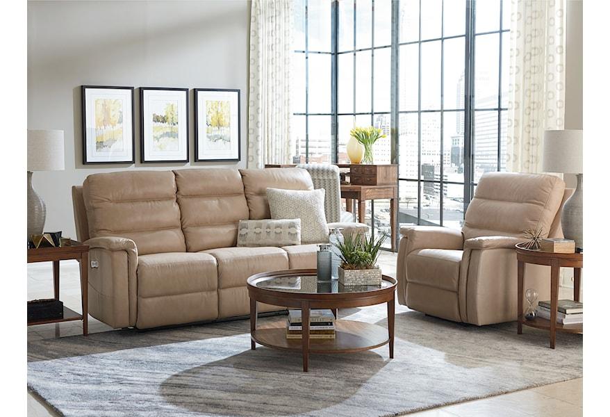 Bassett Regency - Club Level Reclining Living Room Group ...