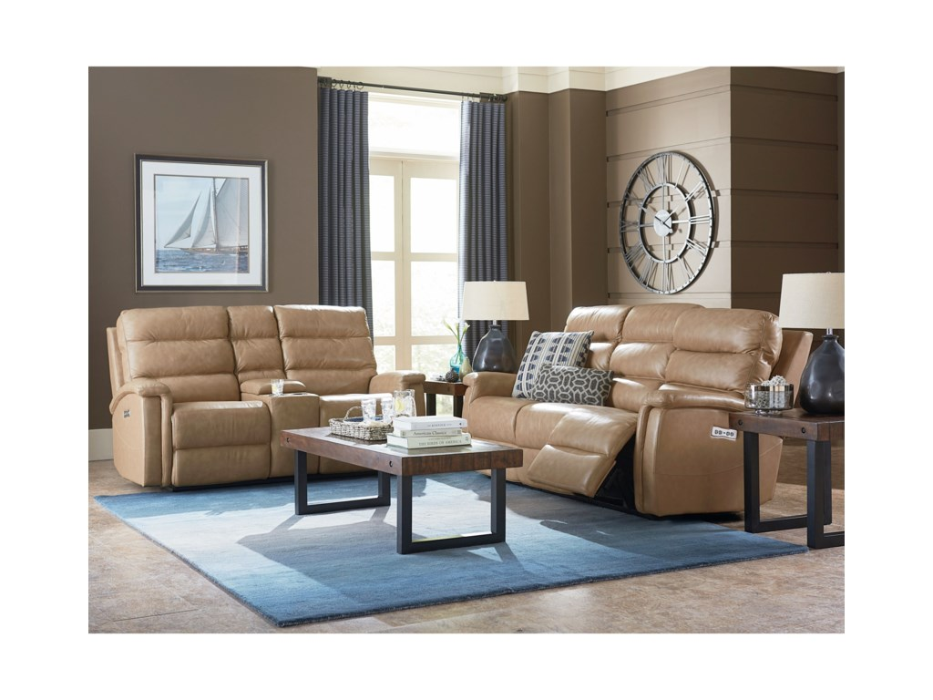 Bassett Regency - Club LevelReclining Living Room Group