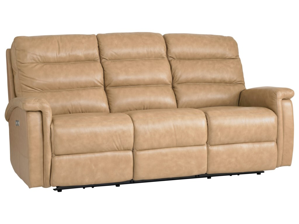 Bassett Regency - Club LevelMotion Sofa with Power Adjustable Headrests