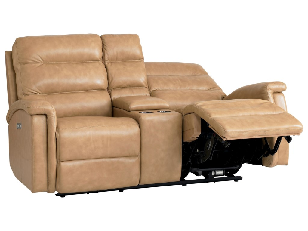 Bassett Regency - Club LevelMotion Loveseat with Power Adjustable HRs