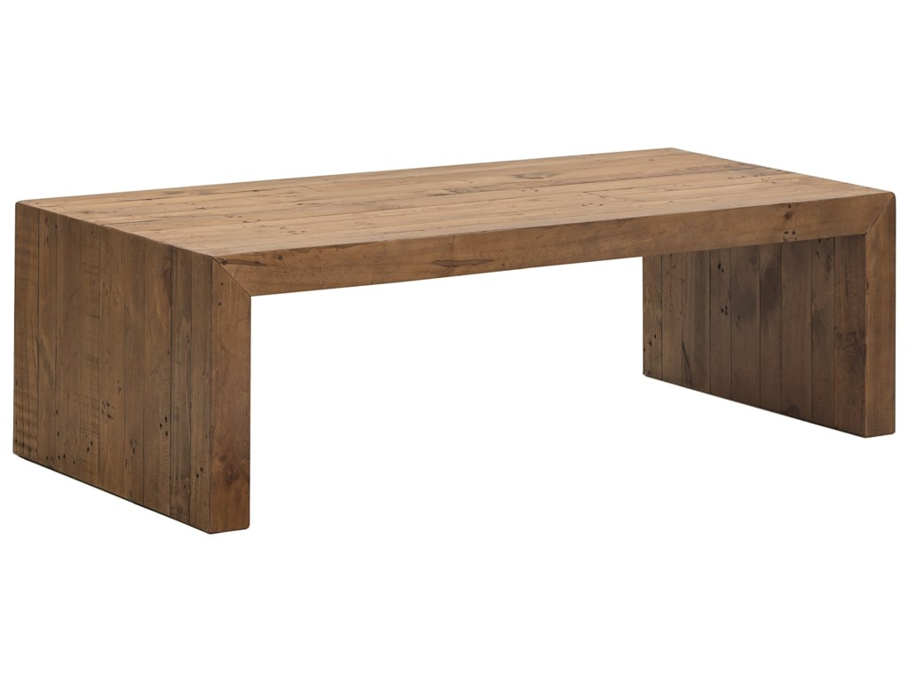 Bassett Salvaged TimberRectangular Cocktail Table
