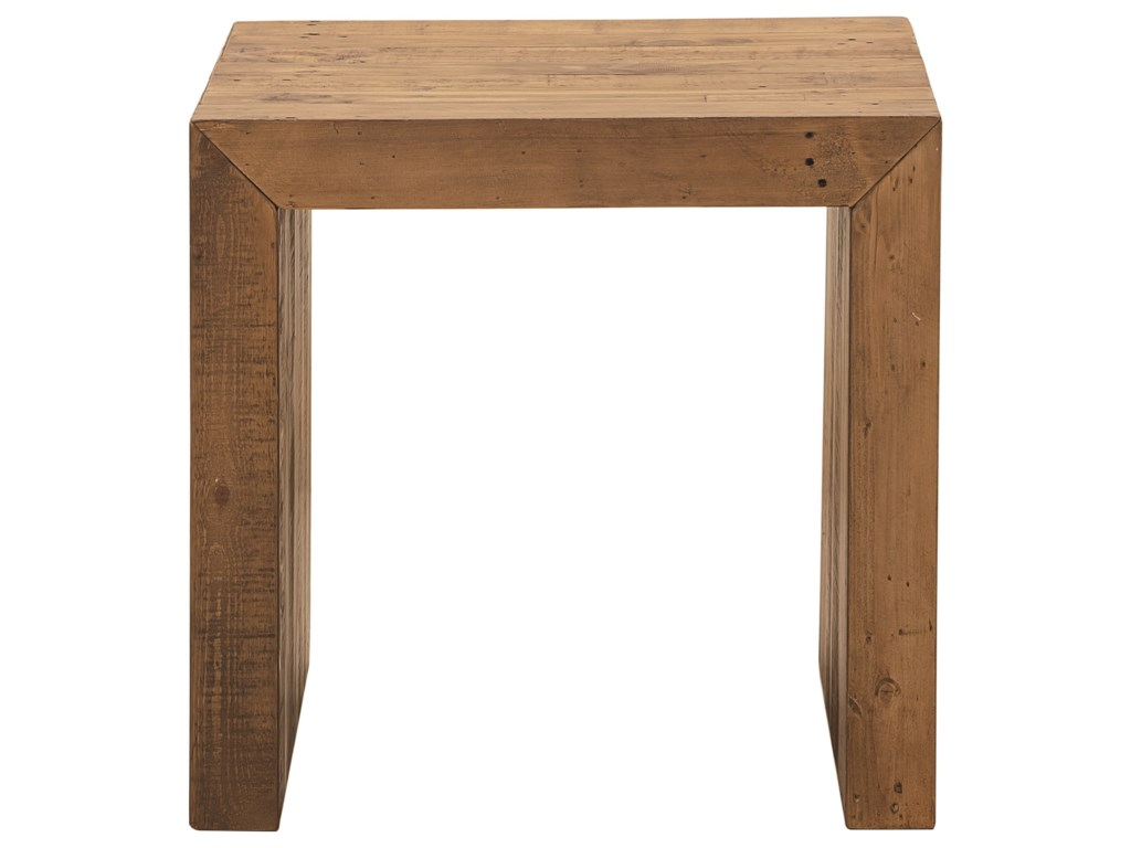 Bassett Salvaged TimberSquare End Table